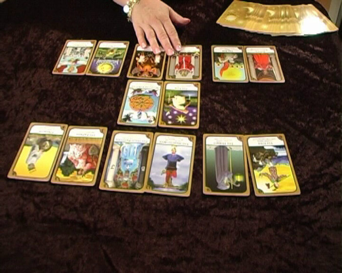 Free-Tarot-Reading -with Simply Tarot Cards widget by Amanda Hall