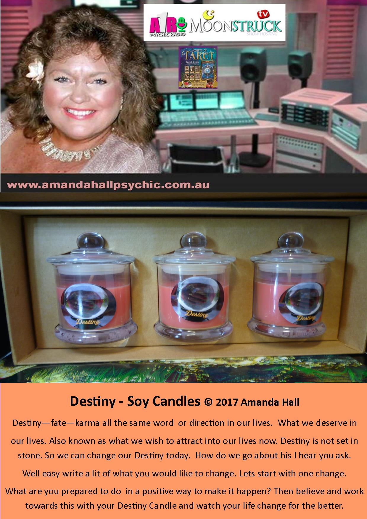 Destiny-gift-box-set-candles create the life your were mean to live today