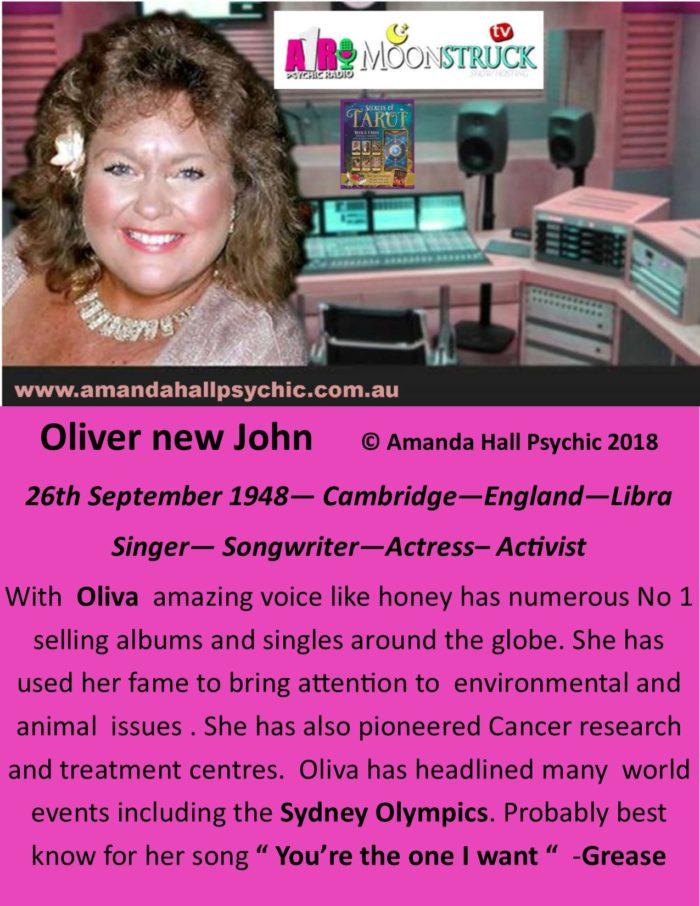 Oliver New John female Libra